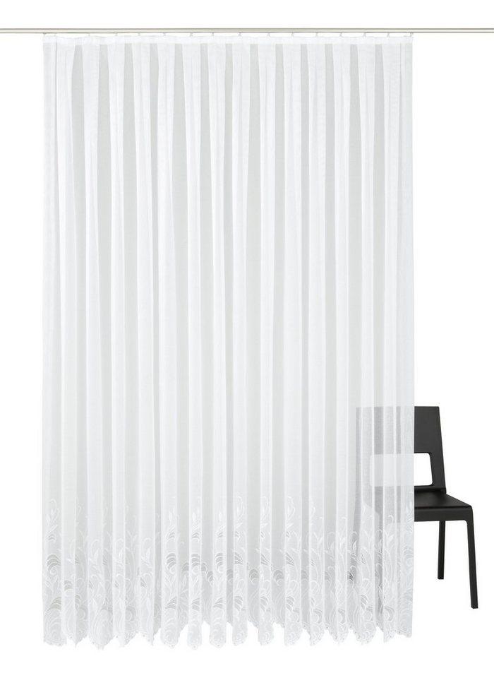 gardine nach ma mit festen falten weckbrodt gardinen jacqu online kaufen otto. Black Bedroom Furniture Sets. Home Design Ideas
