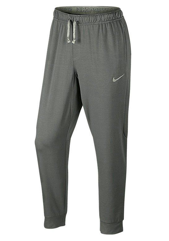 Nike Funktions-Jogginghose in Grau-Meliert