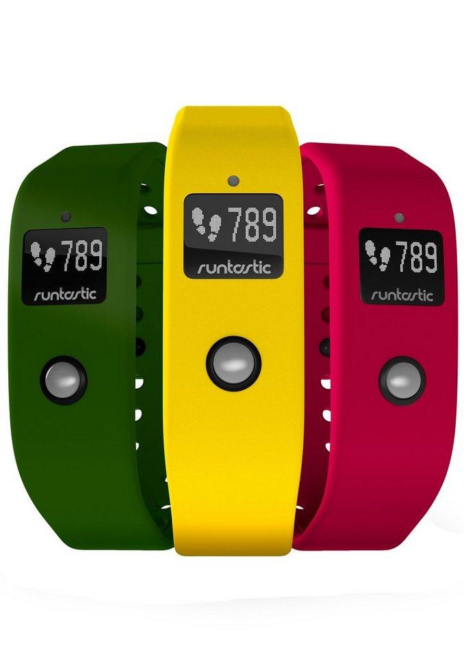 runtastic Set: Armbänder, »Orbit Armbandset« in gelb-pink-grün