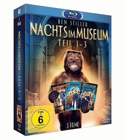 Blu-ray »Nachts im Museum - Teil 1-3 (3 Discs)«