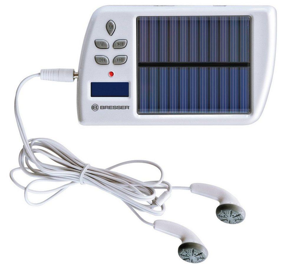 BRESSER Powerbank »Bresser Solar MP3/FM Ladegerät«