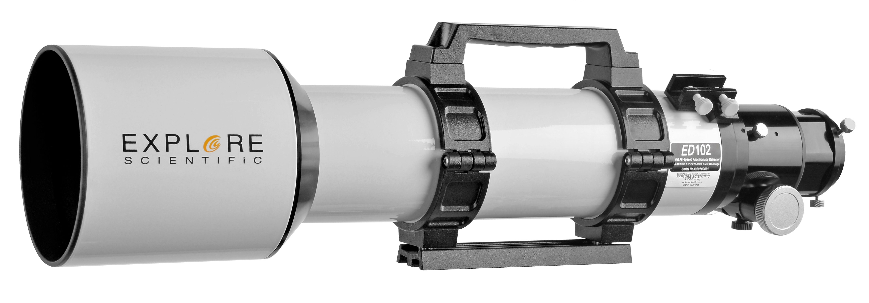 Bresser Teleskop »Explore Scientific ED APO 102mm f/7 FCD-1 Alu Hex«