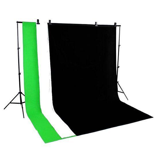 Bresser Fotostudio »BRESSER BR-BGS1 Hintergrundsystem 3x4M SET 1«