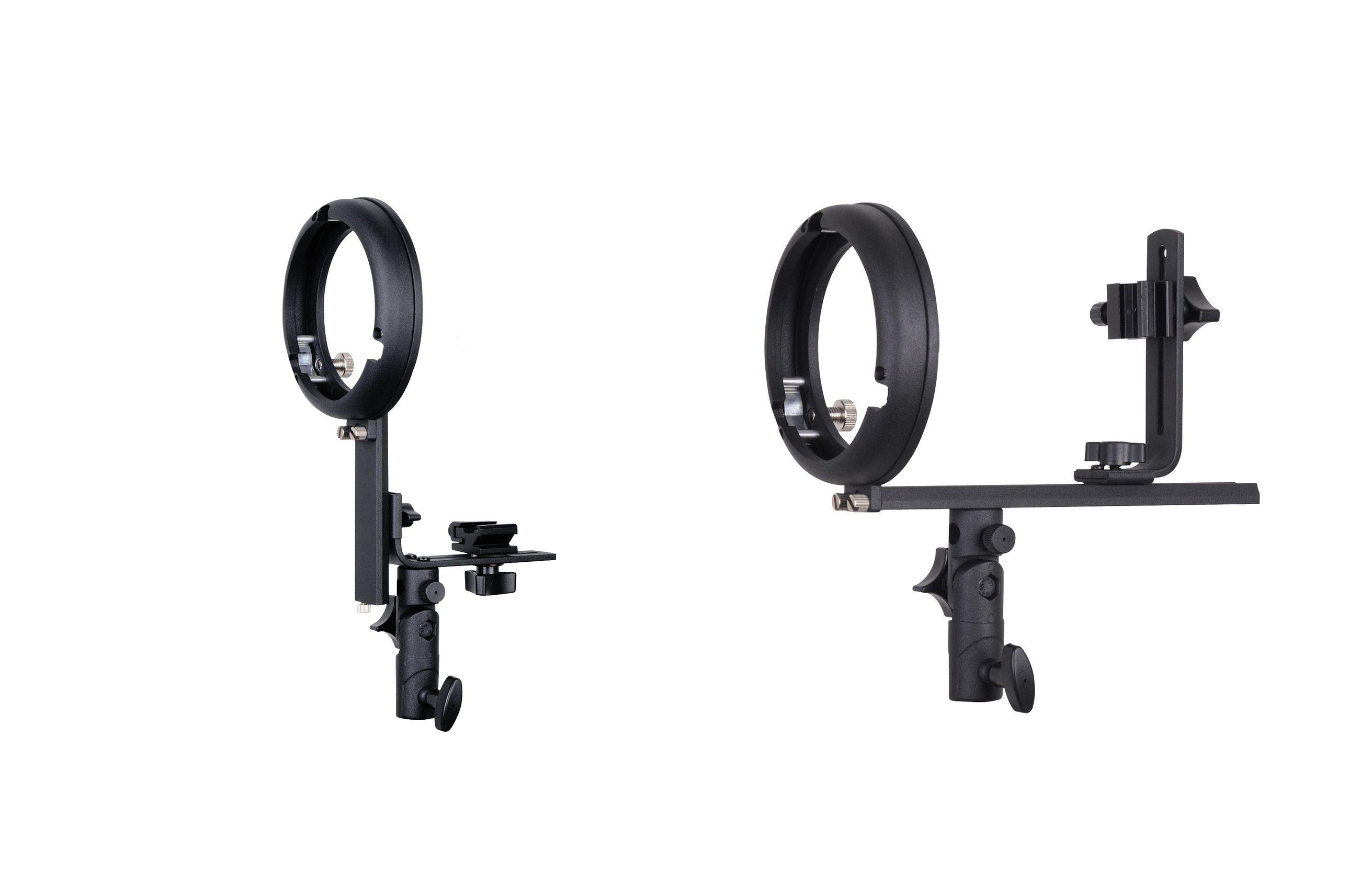 BRESSER Fotostudio »BRESSER Kamerablitzhalter mit S-Bajonett Adapter«