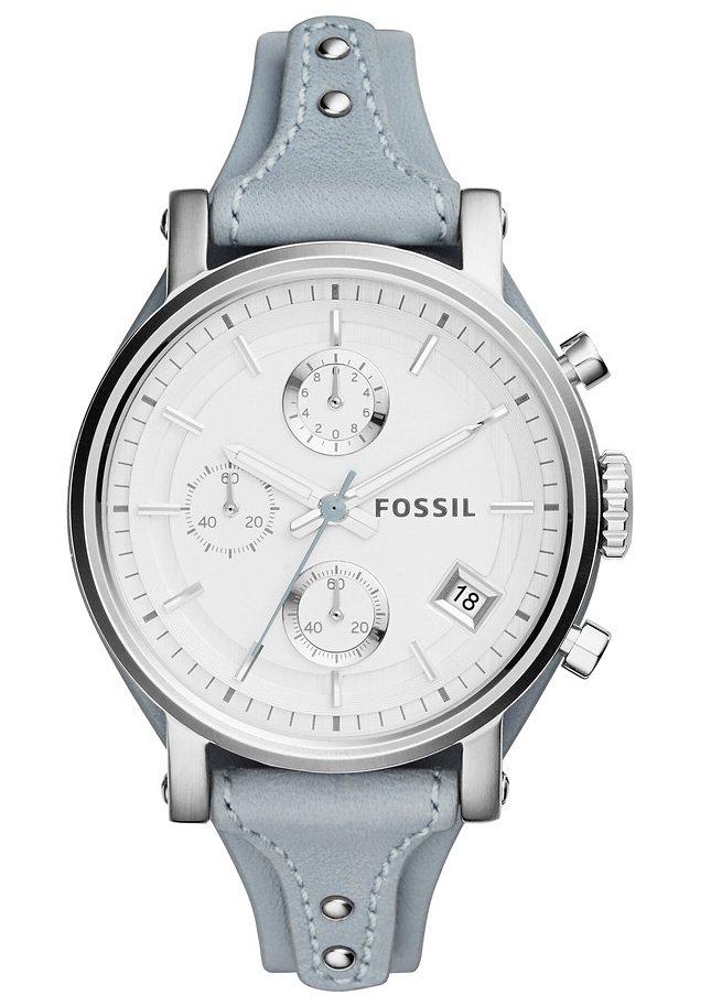 "Fossil, Chronograph, ""ORIGINAL BOYFRIEND, ES3820"" in graublau"