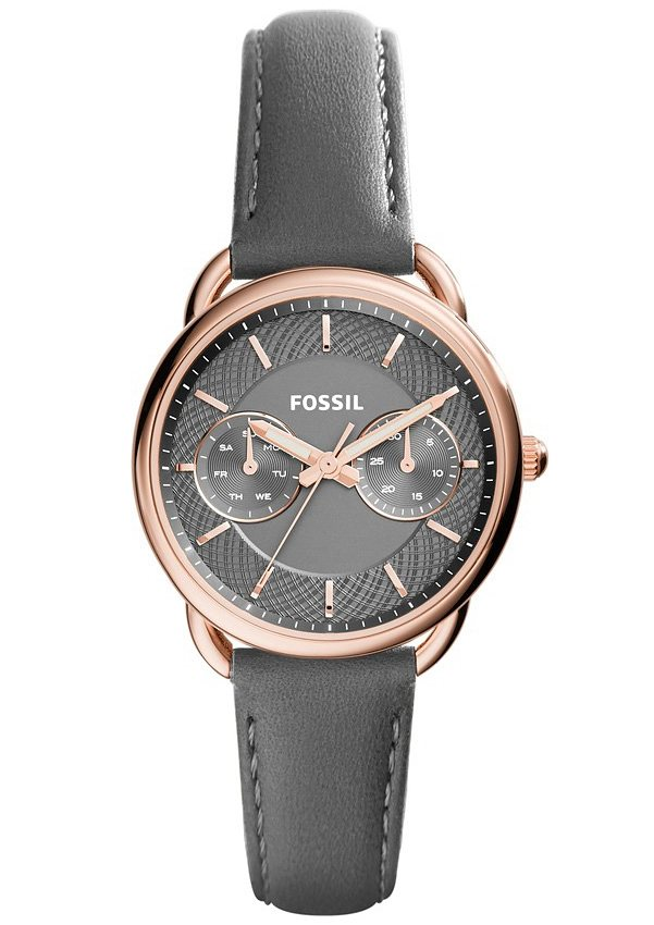 "Fossil, Multifunktionsuhr, ""TAILOR, ES3913"" in grau"