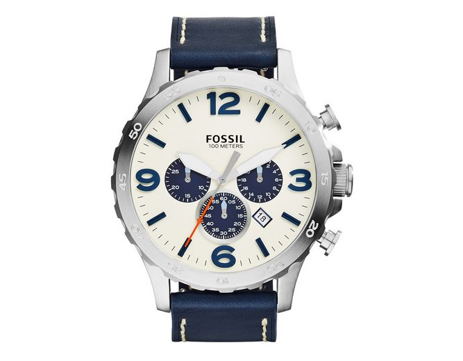 "Fossil, Chronograph, ""NATE, JR1480"""