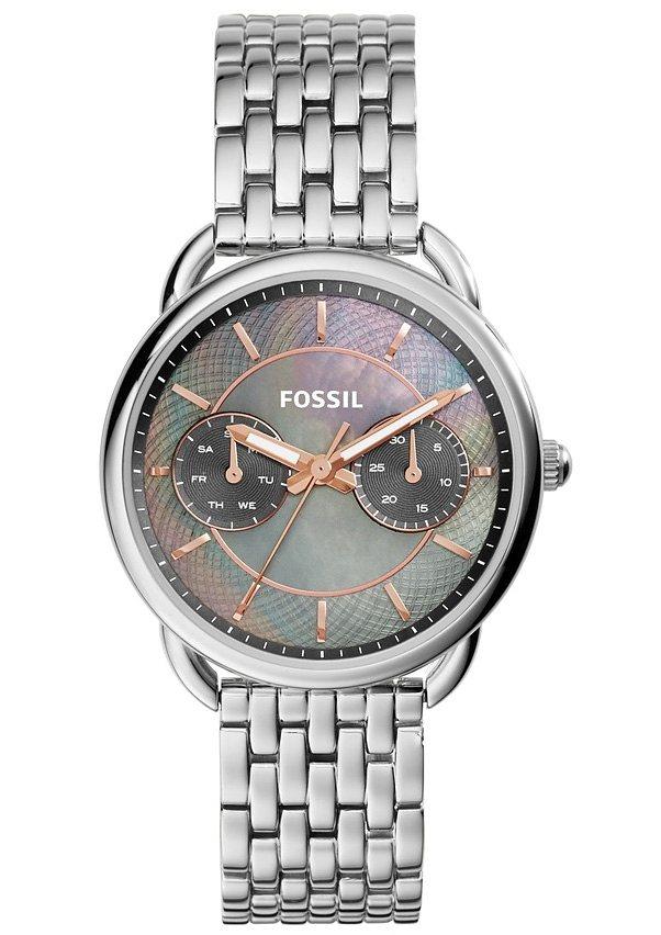 "Fossil, Multifunktionsuhr, ""TAILOR, ES3911"" in silberfarben"
