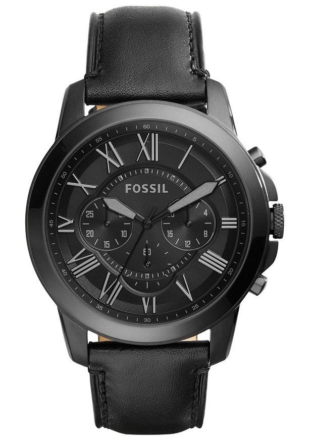 Fossil, Chronograph, »Grant, FS5132« in schwarz