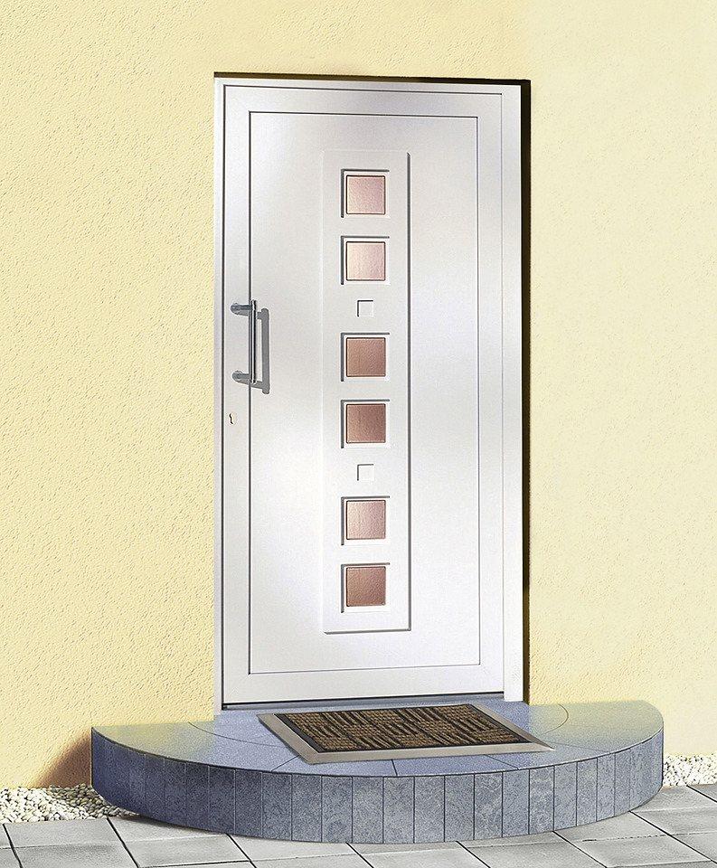 kunststoff haust r modell 80 bxh 110 x 210 cm wei online kaufen otto. Black Bedroom Furniture Sets. Home Design Ideas