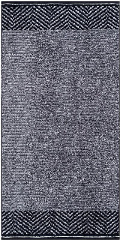 Handtücher, Egeria, »Stagger«, mit diagonalen Streifen in anthrazit
