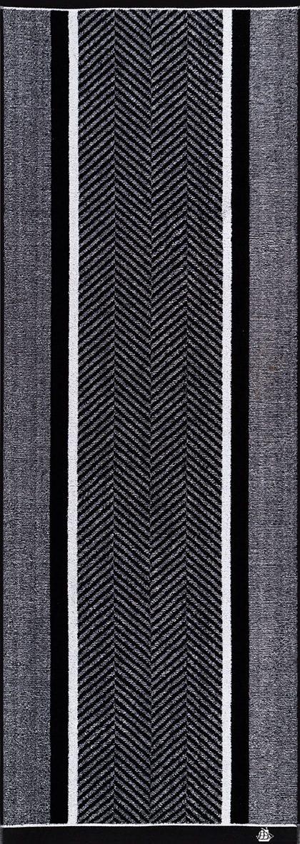 Saunatuch, Egeria, »Stagger«, mit diagonalen Streifen
