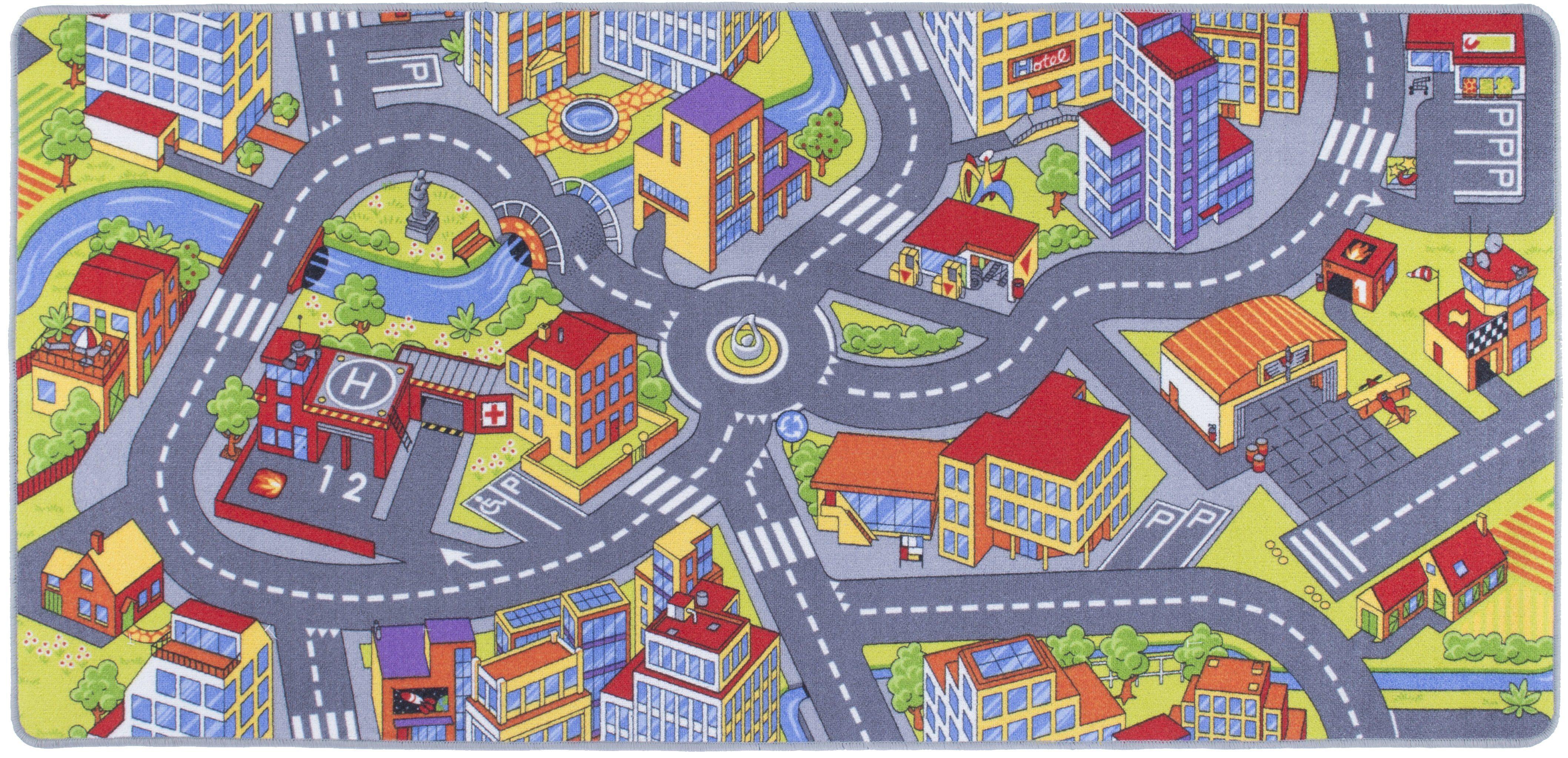 Kinderteppich »Straße«, Andiamo, rechteckig, Höhe 5 mm