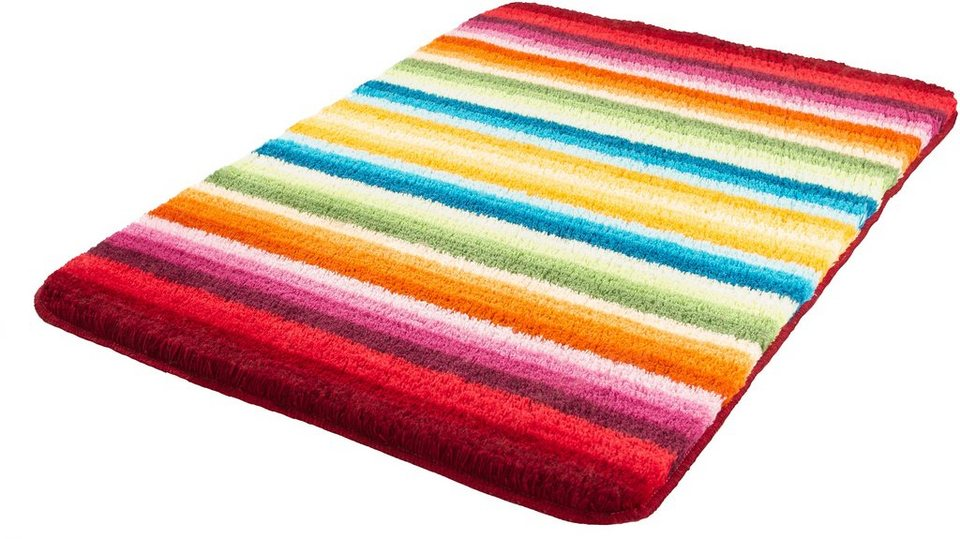Meusch Badematte »Funky«, Höhe 18 mm, rutschhemmender Rücken in Multicolor