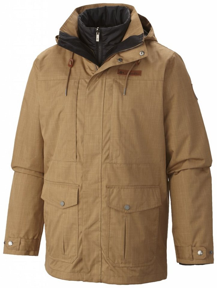Columbia Outdoorjacke »Horizons Pine Interchange Jacket Men« in beige