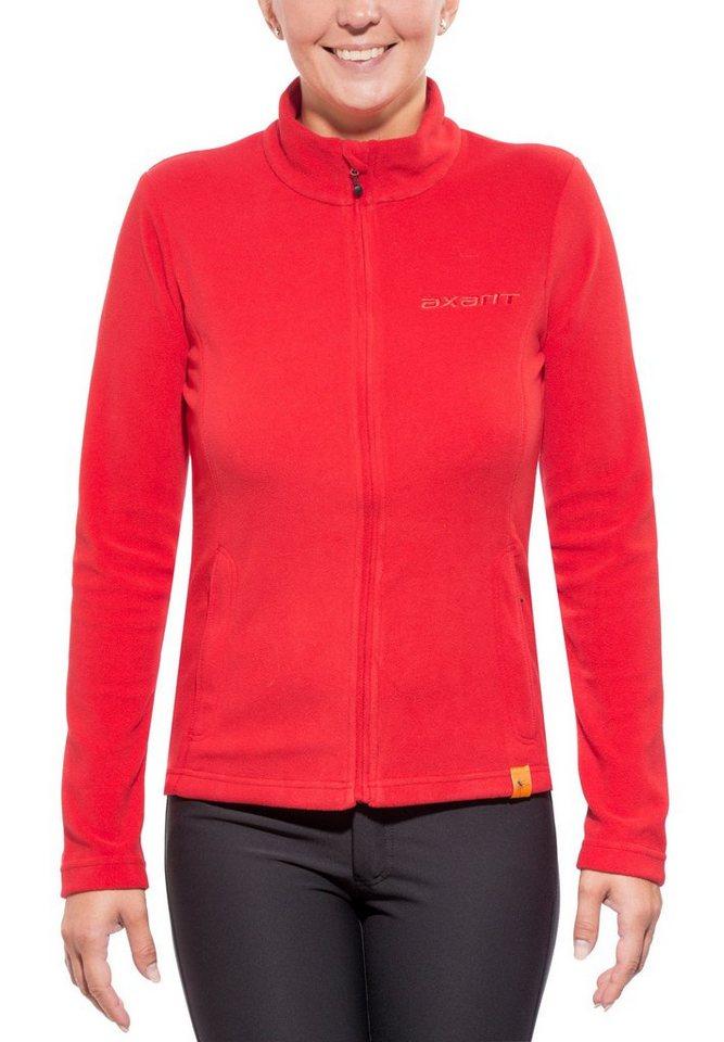 axant Outdoorjacke »Nuba Fleece Jacket Women« | Sportbekleidung > Sportjacken > Outdoorjacken | Rot | Polyester | axant