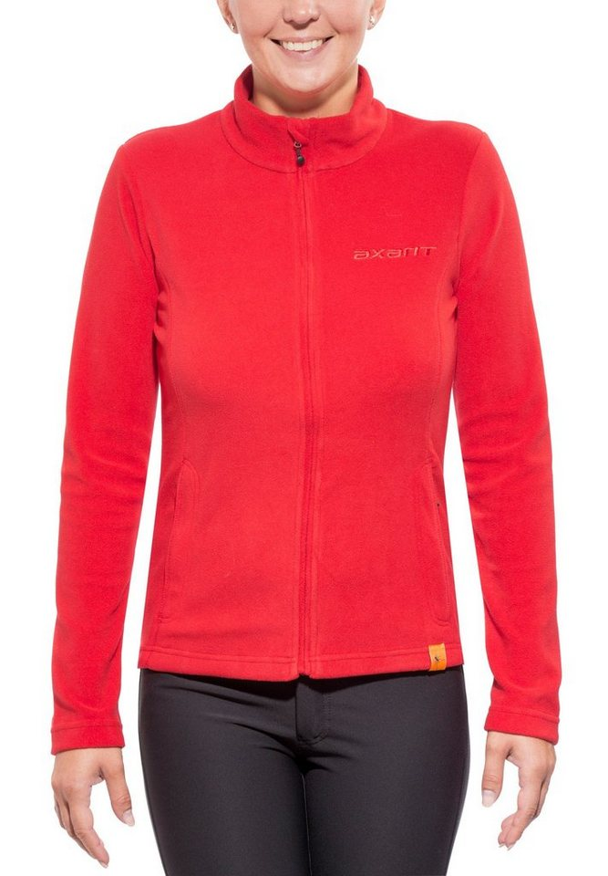 axant Outdoorjacke »Nuba Fleece Jacket Women« in rot
