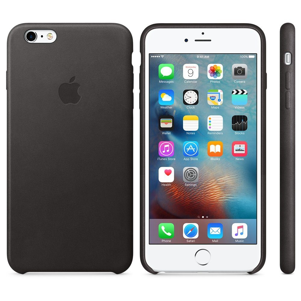 Apple Case »iPhone 6s Plus Leder Case Schwarz«