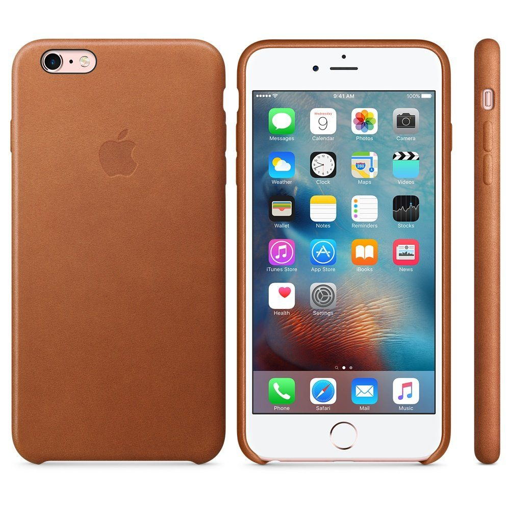 Apple Case »iPhone 6s Plus Leder Case Sattelbraun«