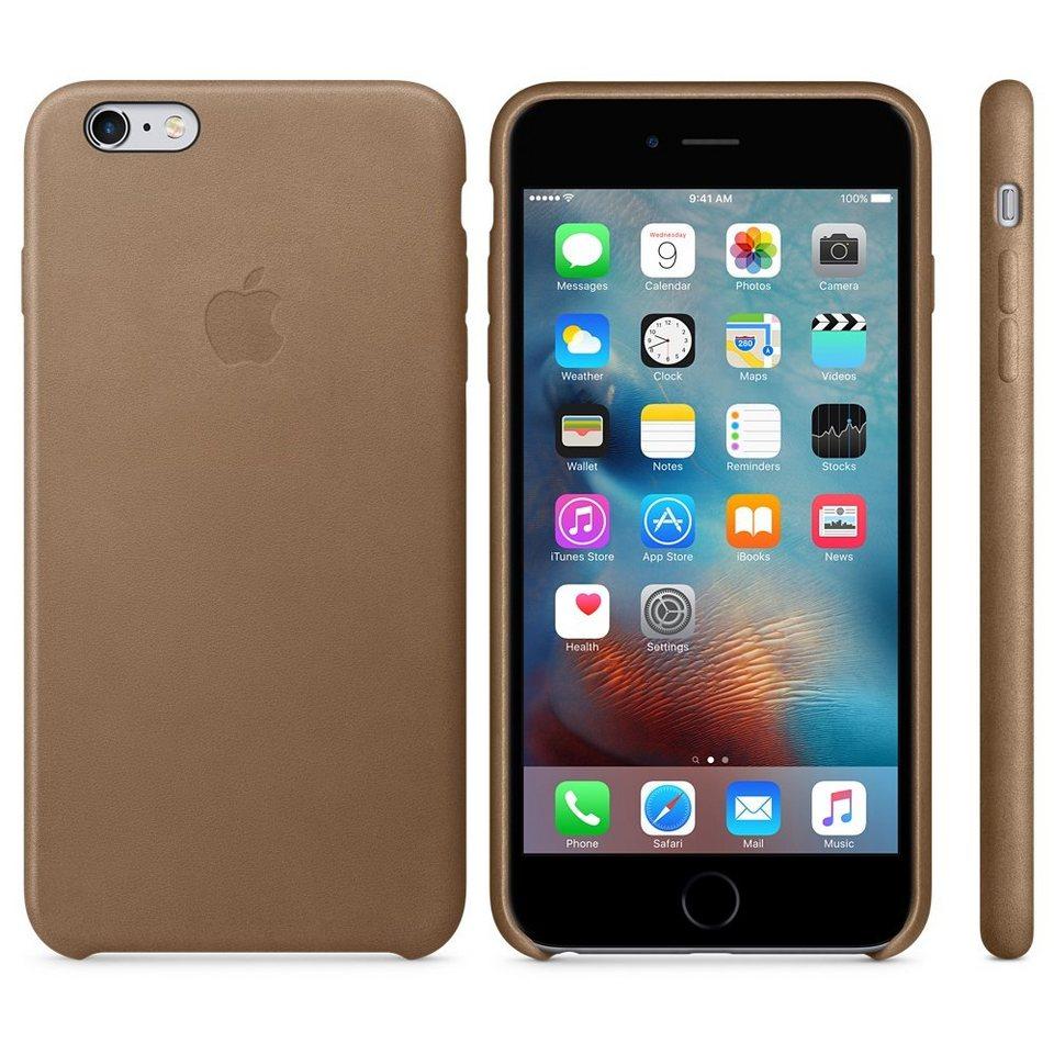 Apple Case »iPhone 6s Plus Leder Case Braun«