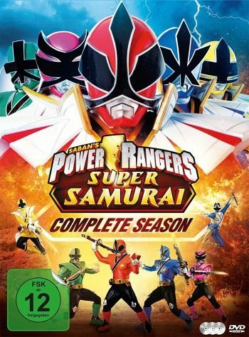 DVD »Power Rangers Super Samurai - Complete Season...«
