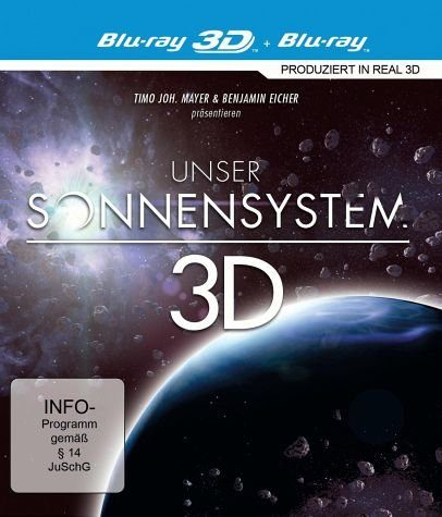 Blu-ray »Unser Sonnensystem (Blu-ray 3D)«