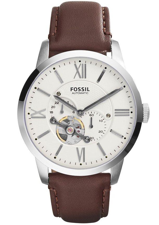"Fossil, Automatikuhr, ""TOWNSMAN, ME3064"" in dunkelbraun"