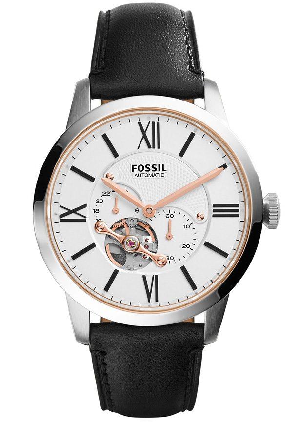 Fossil Automatikuhr »TOWNSMAN, ME3104« kleine Sekunde