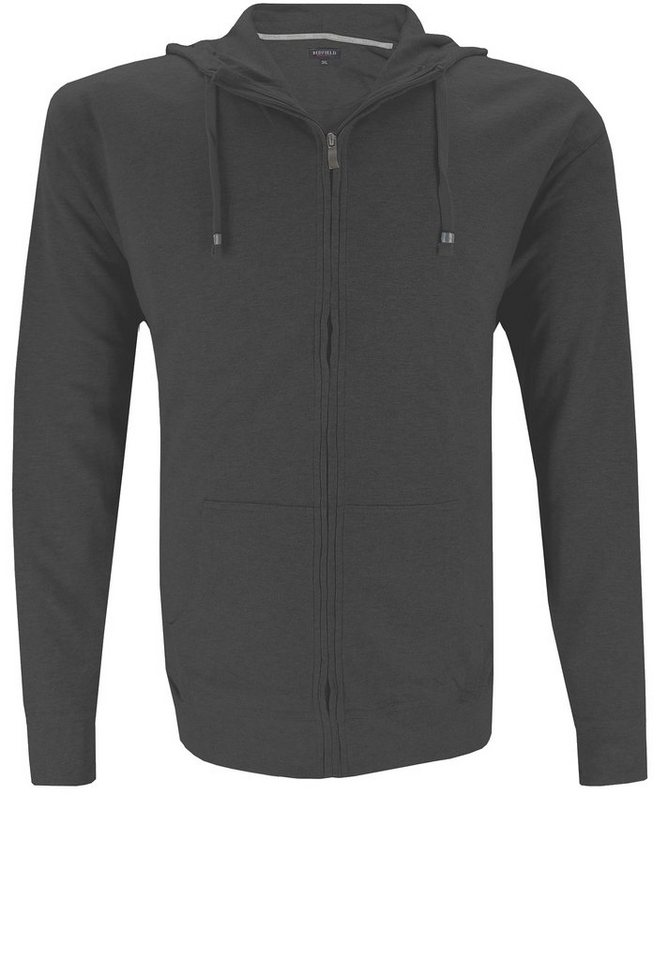 redfield Sweatjacke in Dukelgrau Melange