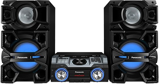 panasonic sc max4000 stereoanlage juke bluetooth nfc. Black Bedroom Furniture Sets. Home Design Ideas