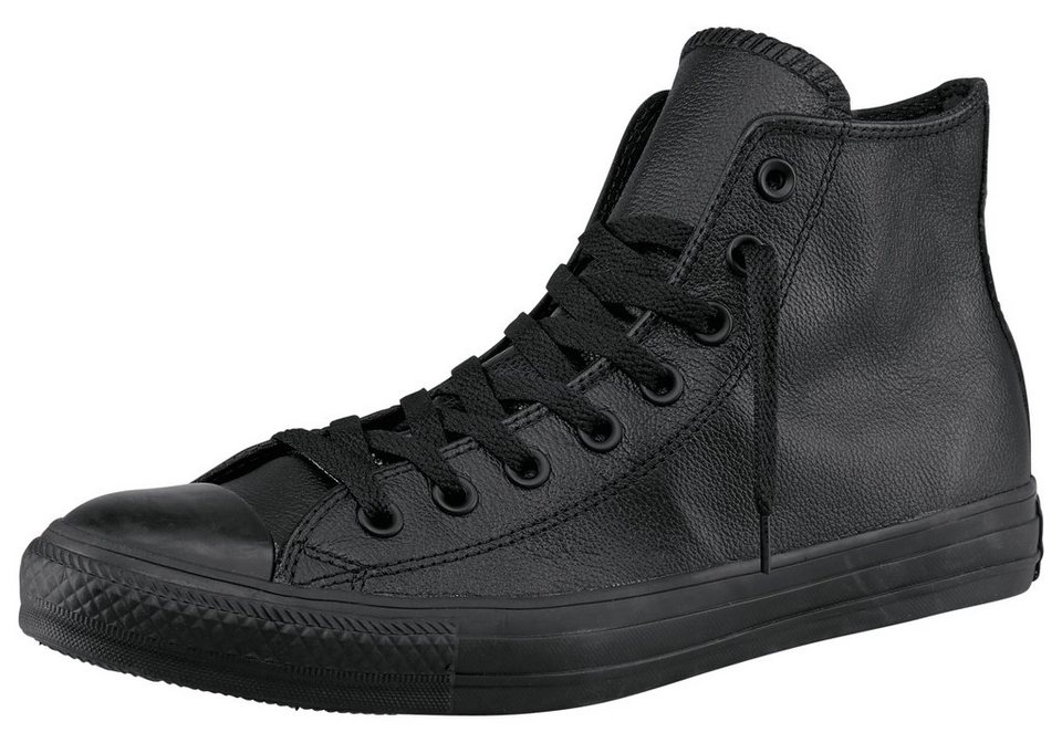 Converse Chuck Taylor All Star Core Mono Leather Sneaker in Schwarz