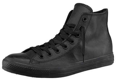 Converse »Chuck Taylor All Star Hi Monocrome Leather« Sneaker Monocrom