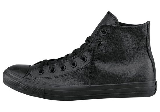 Converse Chuck Taylor All Star Hi Monocrome Leather Sneaker, Monocrom