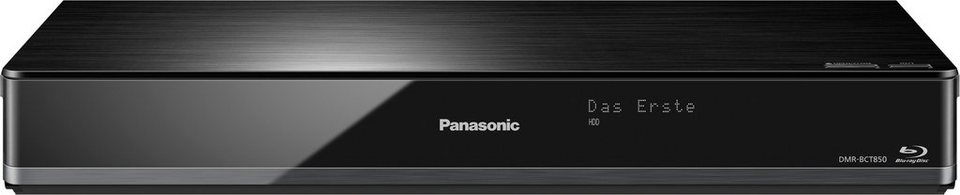 Panasonic DMR-BCT850EG Blu-ray-Recorder, 3D-fähig, 4K (Ultra-HD), 1000 GB, WLAN in schwarz