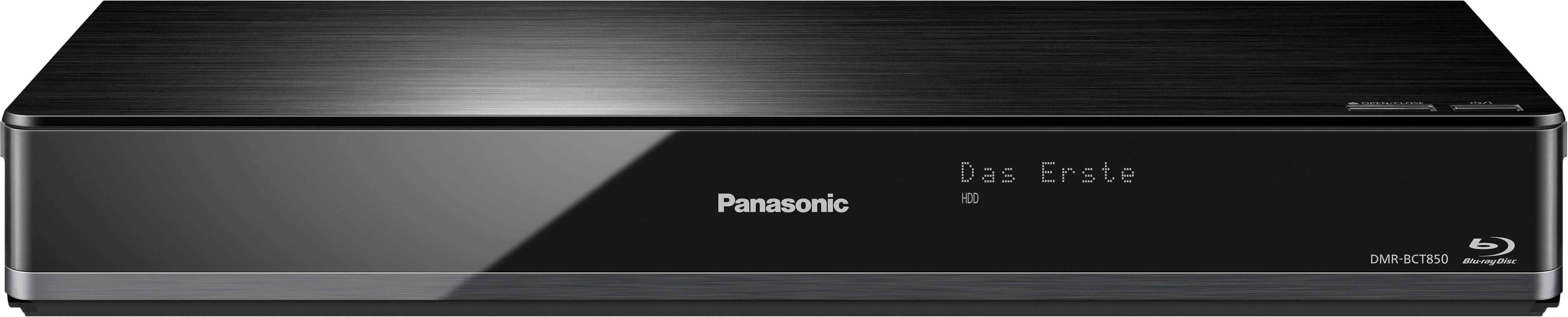 Panasonic DMR-BCT850EG Blu-ray-Recorder, 3D-fähig, 4K (Ultra-HD), 1000 GB, WLAN