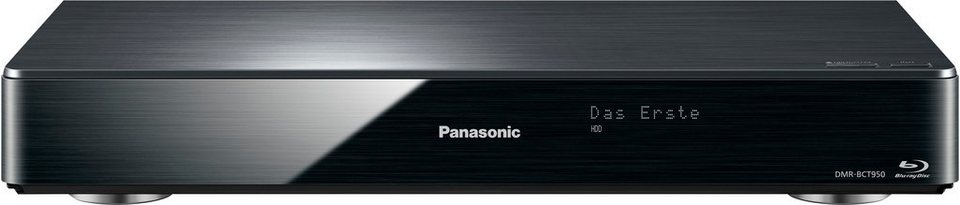Panasonic DMR-BCT950EG Blu-ray-Recorder, 3D-fähig, 4K (Ultra-HD), 2000 GB, WLAN in schwarz
