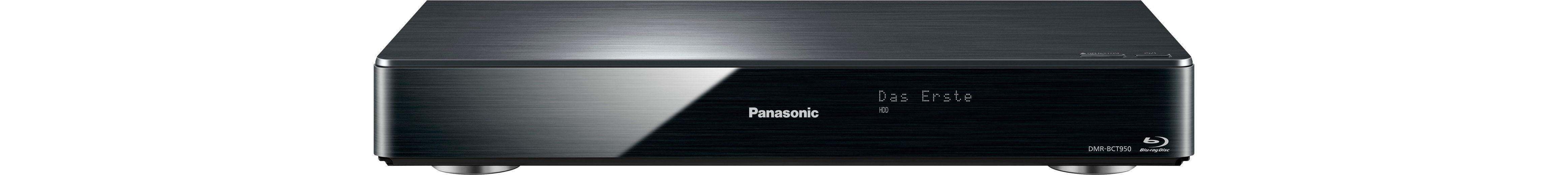 Panasonic DMR-BCT950EG Blu-ray-Recorder, 3D-fähig, 4K (Ultra-HD), 2000 GB, WLAN