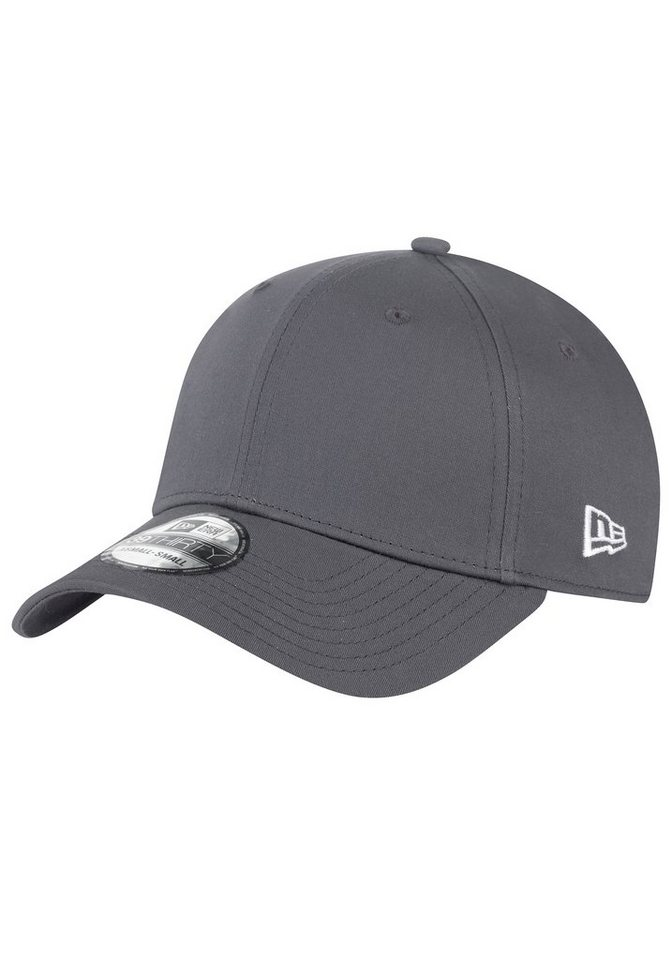 New Era Baseball Cap »39Thirty flexfitted. non branded« in grau