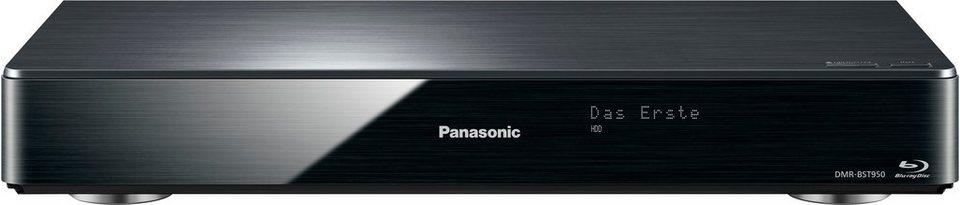 Panasonic DMR-BST950EG Blu-ray-Recorder, 3D-fähig, 4K (Ultra-HD), 2000 GB, WLAN in schwarz
