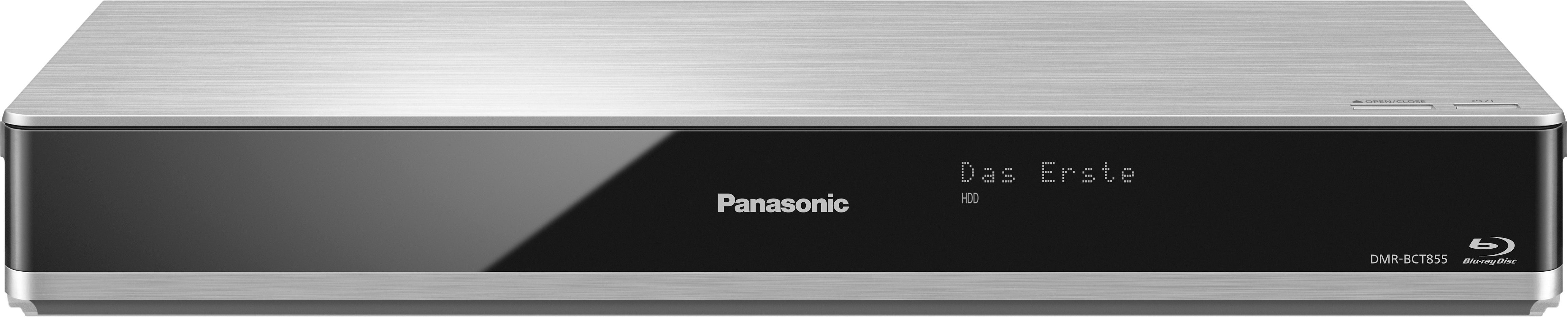 Panasonic DMR-BCT855EG Blu-ray-Recorder, 3D-fähig, 4K (Ultra-HD), 1000 GB, WLAN