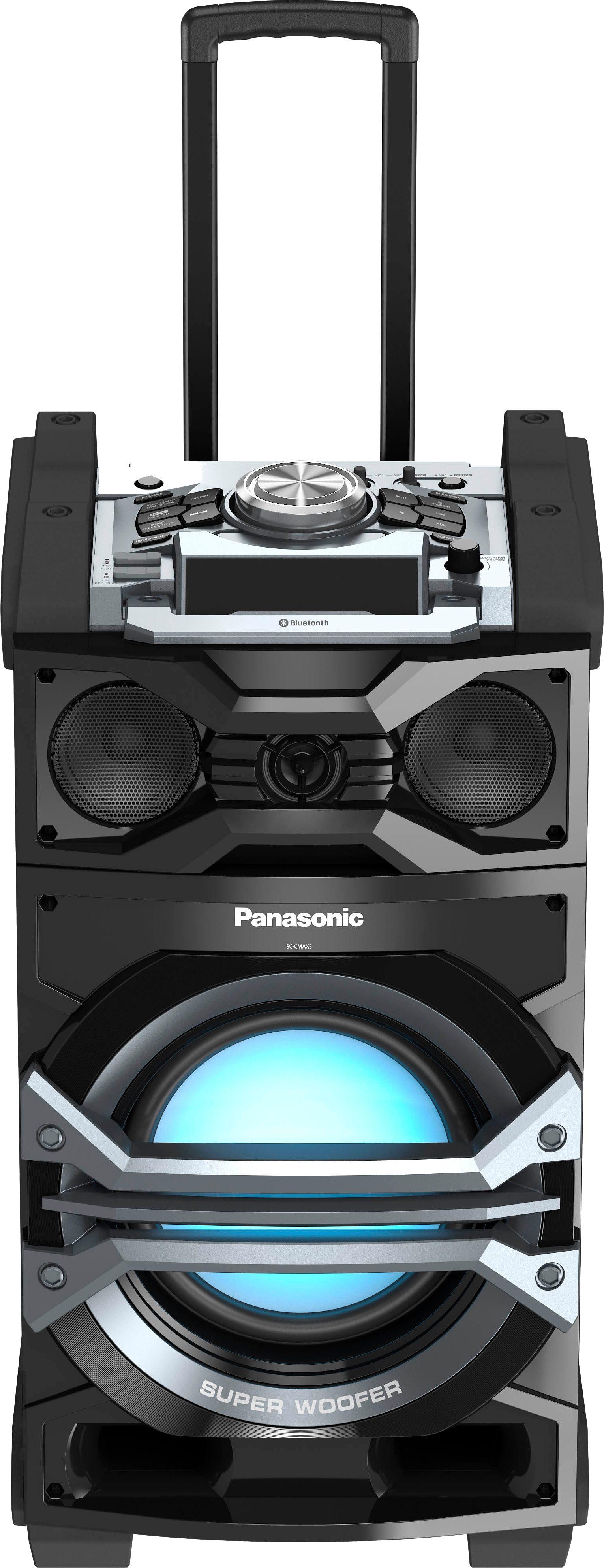Panasonic SC-CMAX5 Stereoanlage, Juke, Bluetooth, 2x USB