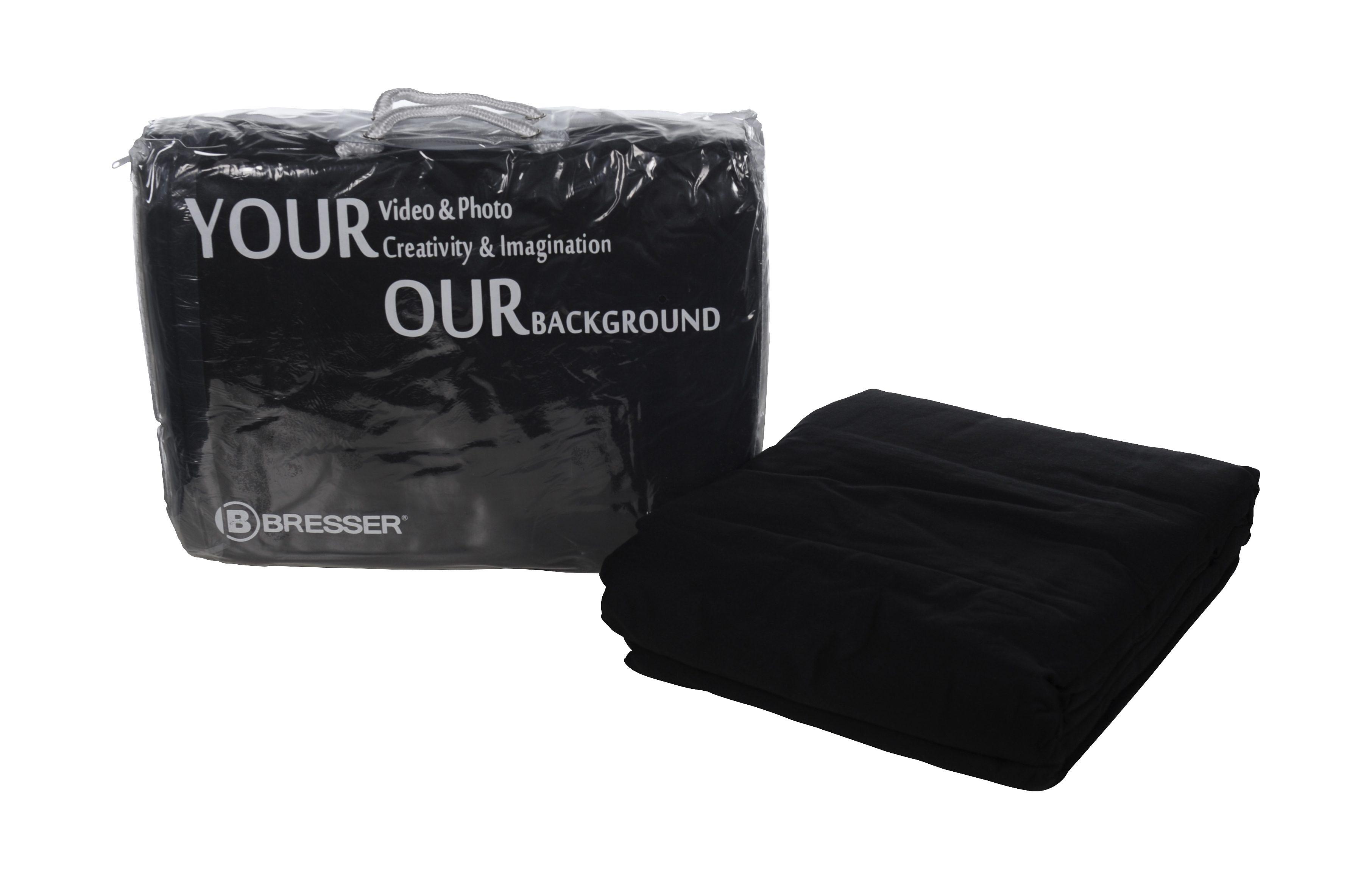 BRESSER Fotostudio »BRESSER Y-9 Hintergrundtuch 2,5x3m schwarz«