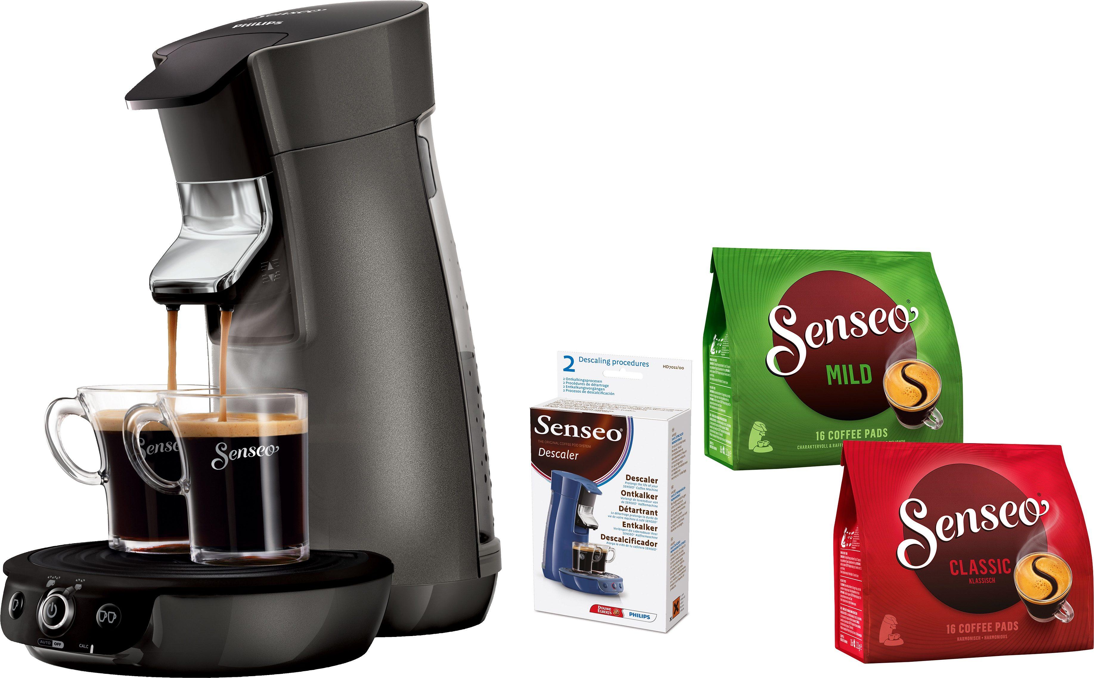 SENSEO® Kaffeepadmaschine HD7833/50 Viva Café Style,inkl Gratis-Zugaben im Wert von 14€