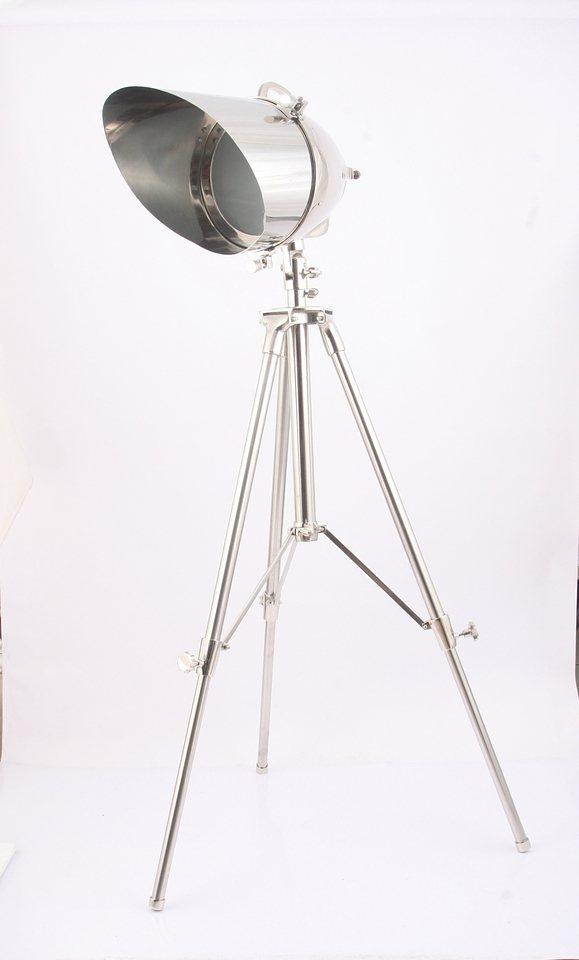 Sit Standstrahler 1 flammig, ohne Leuchtmittel in Aluminium/ Stahl