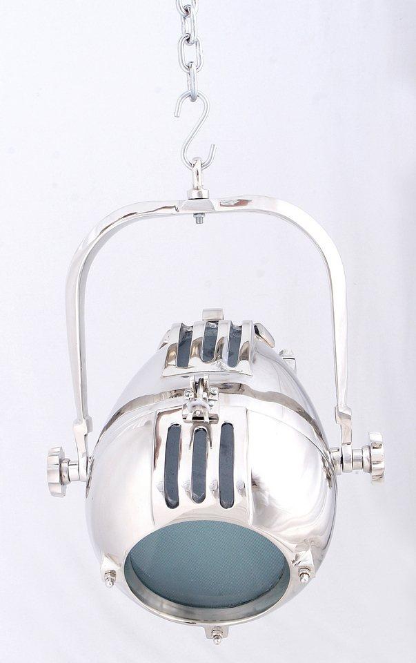 Sit Hänge-Strahler 1 flammig, ohne Leuchtmittel in Metall mit Alu-Finish