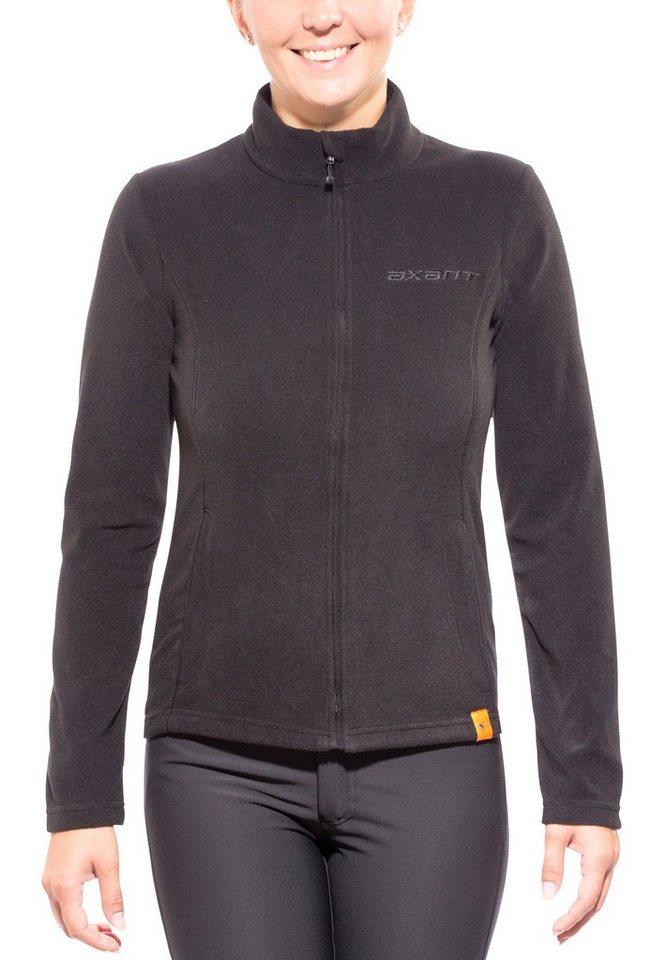 axant Outdoorjacke »Nuba Fleece Jacket Women« in schwarz