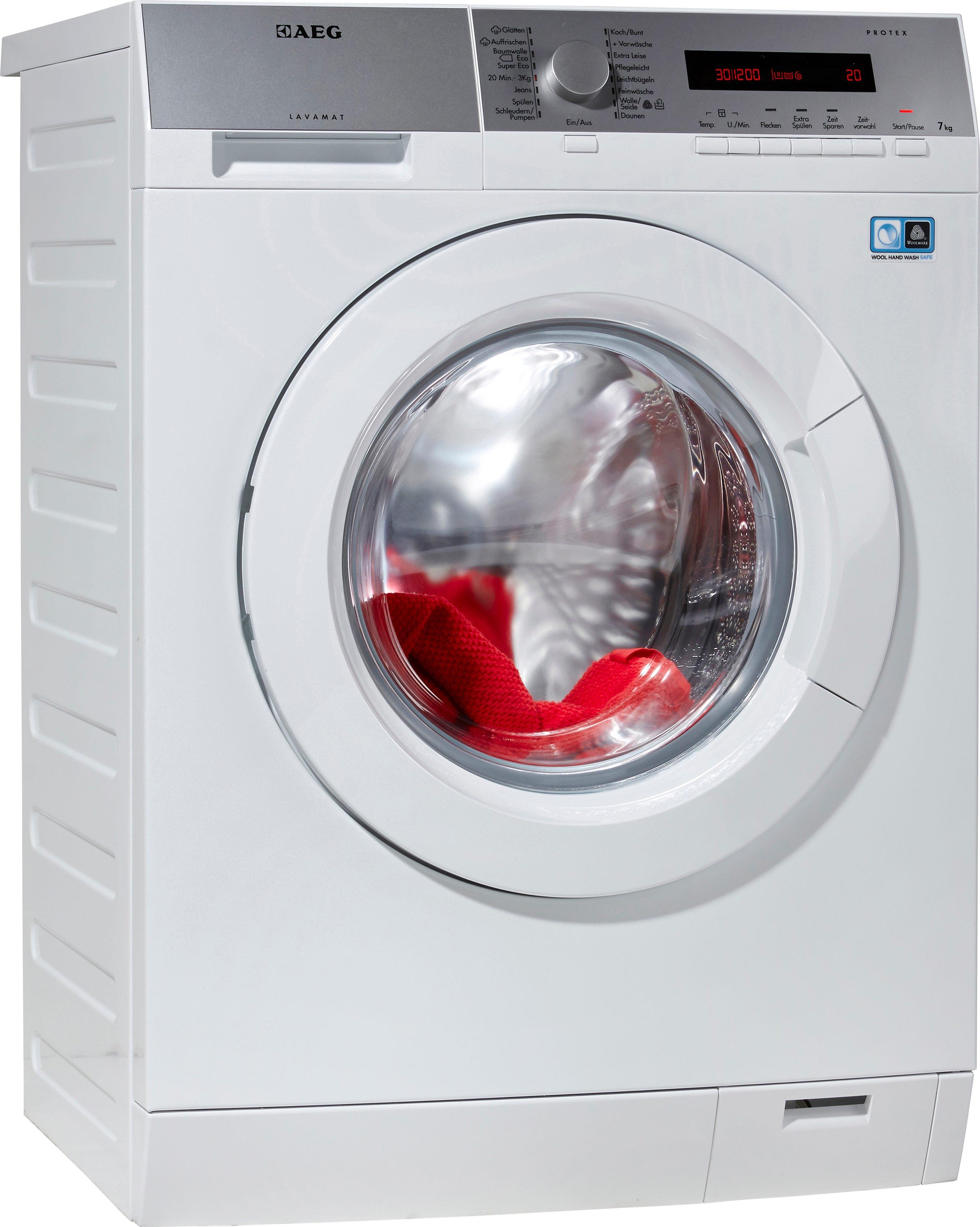 AEG Waschmaschine Lavamat L7.20FL, A+++, 7 kg, 1400 U/Min