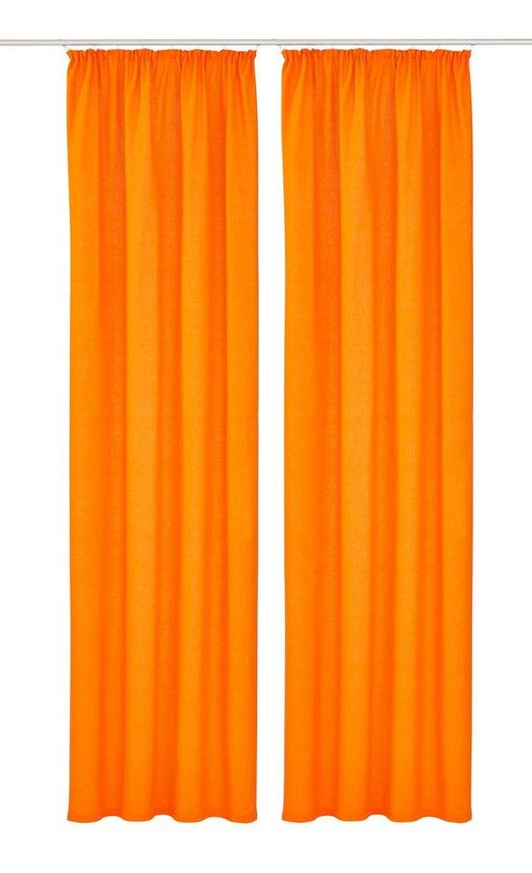 Vorhang, My Home, »Farah« (2 Stück) in orange