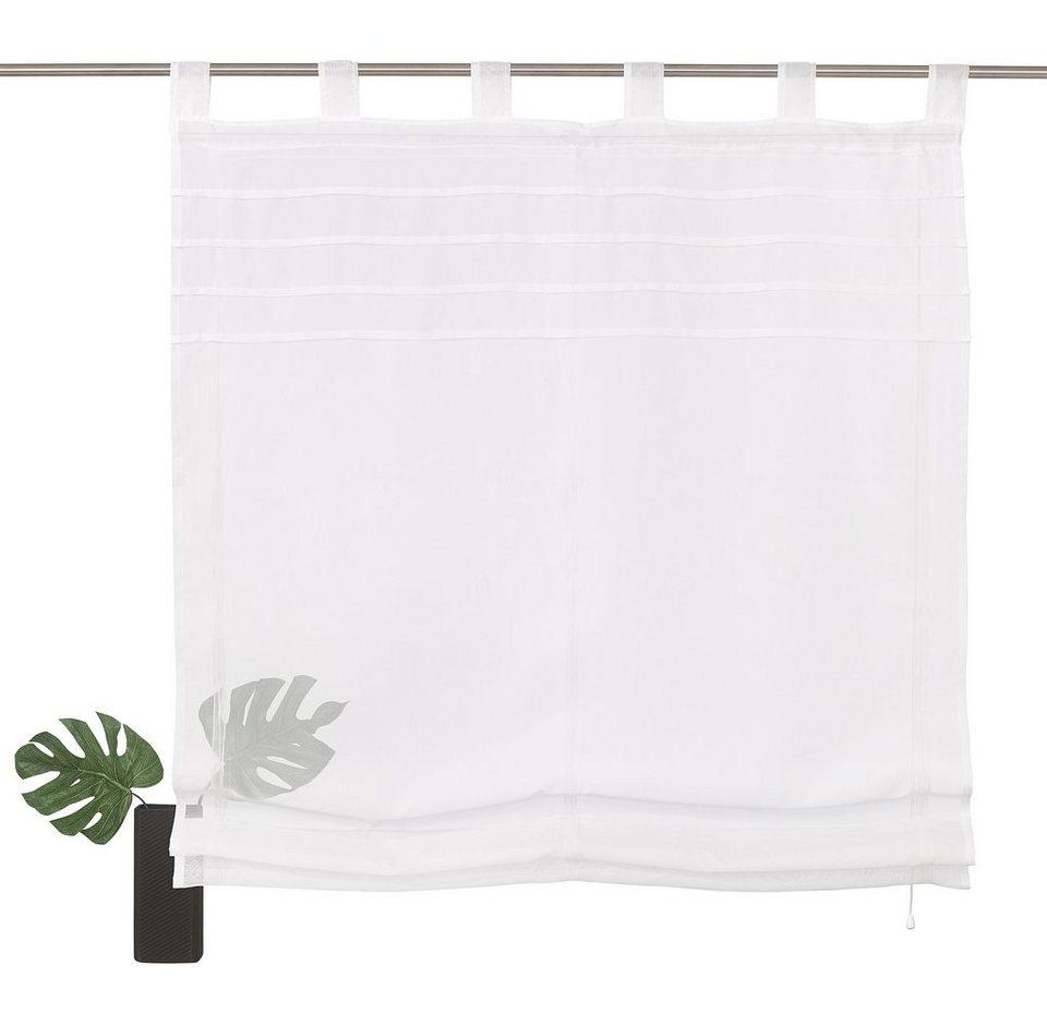 Raffrollo, my home, »Napo« (1 Stück) in weiß
