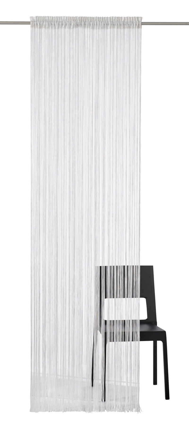 Fadenvorhang »Fao-Uni«, my home, Stangendurchzug (1 Stück)